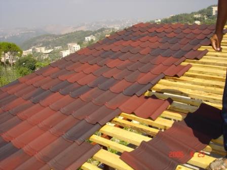 متخصص اجرای سقف شینگل